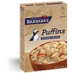 Barbara's Bakery Gluten Free Puffins Cereal, Honey Rice, 10 Oz. (Case of 12)