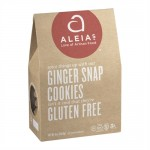 Aleia's Gluten Free Ginger Snap Cookies - Case of 6
