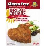 Kinnikinnick Gluten Free Panko-Style Bread Crumbs - Case of 6