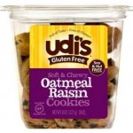 Udi's Gluten Free Oatmeal Raisin Cookies - 8 Pack
