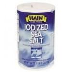 Hain Iodized Sea Salt, 26 oz. (Pack of 24)