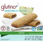 Glutino - Gluten Free Apple Breakfast Bars [Case of 6]
