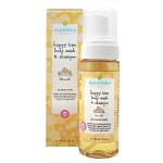 Mambino Organics Happy Time Baby Kids Wash and Shampoo, 5.5 fl oz