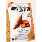 Way Better Snacks, Gluten Free Sweet Potato Tortilla Chips, 5.5 oz bag (12 Pack)
