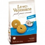Le Veneziane Gluten Free Cookies With Coconut (Case of 15)