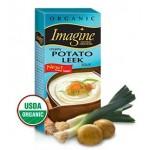 Imagine Foods Gluten Free Organic Creamy Potato Leek Soup, 32 Oz. (12 Pack)