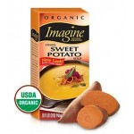 Imagine Foods Organic  Gluten Free Creamy Sweet Potato Soup, 32 Oz. (12 Pack)