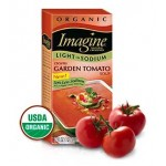 Imagine Foods Organic  Gluten Free Creamy Garden Tomato Soup, Light Sodium, 32 Oz. (12 Pack)