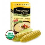 Imagine Foods Organic  Gluten Free Creamy Harvest Corn Soup, Light Sodium, 32 Oz. (12 Pack)