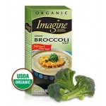 Imagine Foods Organic  Gluten Free Creamy Broccoli Soup, Light Sodium, 32 Oz. (12 Pack)