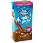 Almond Breeze Gluten Free Almond Milk, Chocolate Unsweetened, 32 Oz (12 Pack)