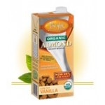 Pacific Foods Gluten Free Organic Almond Milk, Vanilla, 32 Oz. (12 Pack)