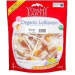 Yummy Earth, Gluten Free Family Size Organic Mango Tango Pops, 12.3 Oz Pouch ( Case of 12)