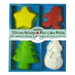 Silicone Holiday Mini Cake Molds