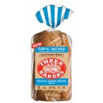 Three Bakers Gluten Free Whole Grain White Bread
