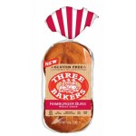 Three Bakers Gluten Free Whole Grain Hamburger Buns (Case of 6)