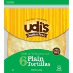 NEW!! Udi's Gluten Free Large Tortillas (Case of 10)