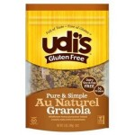 Udi's Gluten Free Foods - Gluten Free Au Naturel Granola - 1 Case
