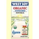 Westsoy Unsweetened Gluten Free Soymilk, Plain, 32 Oz. (12 Pack)