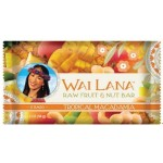 Wai Lana Raw Gluten Free Fruit & Nut Bar, Tropical Macadamia, 2 Oz Pack (Case of 12)