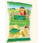 Wai Lana Snacks, Gluten Free Herb & Garlic Chips, 3 Oz Bag (Case of 6)