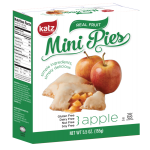 Katz Gluten Free Apple Mini Pies, 5.5 Oz
