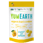 Yummy Earth, Organic Gluten Free Cheeky Lemon Drops, 3 Oz Pouch (Pack of 6)