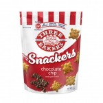 Three Bakers Gluten Free Snackers, Chocolate Chip, 4.5 Oz [8 Pack]
