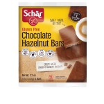 Schar Gluten Free Chocolate Hazelnut Bars - Case of 12