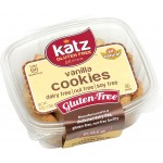 Katz Gluten Free Vanilla Cookies - Case of 6