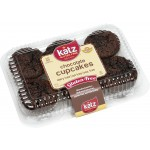 Katz Gluten Free Chocolate Cupcakes - Case of 6