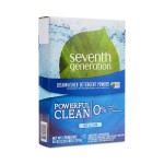 Seventh Generation Dishwashing Detergent Powder, Free & Clear, 45 Oz