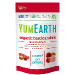 Yummy Earth, Gluten Free Organic Vitamin C Assorted Drops, Family Size, 12.3 Oz Pouch ( Case of 12)