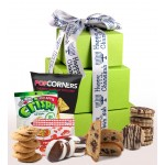 Happy Chanukah! Gluten Free Gift Tower