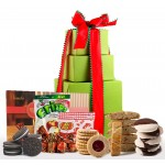 NEW!! Holiday Delight! Deluxe Gluten Free Gift Tower - Super Sized!
