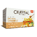 Celestial Seasonings Honey Vanilla Chamomile Herbal Tea (6 Boxes)