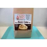 Gluten Free Vegan Moist Basic Cake, Cupcake, & Muffin Mix, 18 Oz bag [2 Pack]