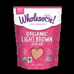 Wholesome Sweeteners, Gluten Free Organic Light Brown Sugar, 24 Oz. (Case of 2)