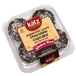 Katz Gluten Free Peppermint Crunch Chocolate Cupcakes, 10 Oz [Case of 6]