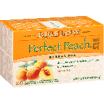 Bigelow Tea, Perfect Peach Herb Tea (6 Boxes)