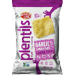 Enjoy Life Gluten Free Plentil Chips, Garlic & Parmesan, 4 Oz Bag (12 Pack)