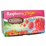 Celestial Seasonings Raspberry Zinger Herbal Tea (6 Boxes)