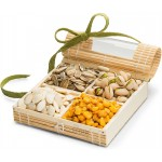 Simply Crave Nut Gifts, Gourmet Food Gift, Nuts Tray Gift Assortment, Nuts & Seeds (Small)