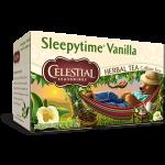 Celestial Seasonings Sleepytime Vanilla Herbal Tea (6 Boxes)