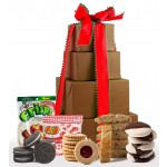 NEW!! Sweet & Merry Holiday Gluten Free Gift Tower - Super Sized!