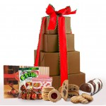 NEW!! Sweet & Merry Holiday Deluxe Gluten Free Gift Tower - Super Sized!