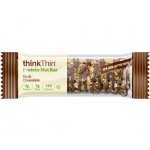 Think Thin Protein Gluten Free Nut Bars, Dark Chocolate, 1.41 oz [10 Pack]