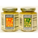 Honey Acres Honey Mustard, Hot, 6.5 Oz Jar [2 Pack]