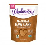 Wholesome Sweeteners, Gluten Free Organic Raw Cane Sugar, 24 Oz (Case of 2)