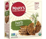 Mary's Gone Crackers, Gluten Free Crackers, Herb
